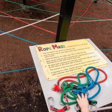 Bellingham Maze rope maze