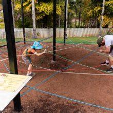 Bellingham Maze rope maze race