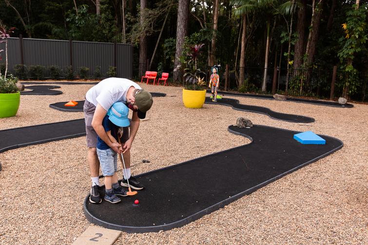 Bellingham Maze mini golf