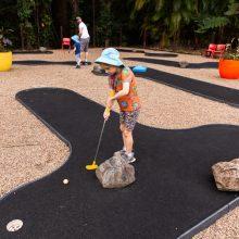 Bellingham Maze mini golf fun