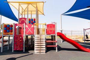colouful gold coast playground.
